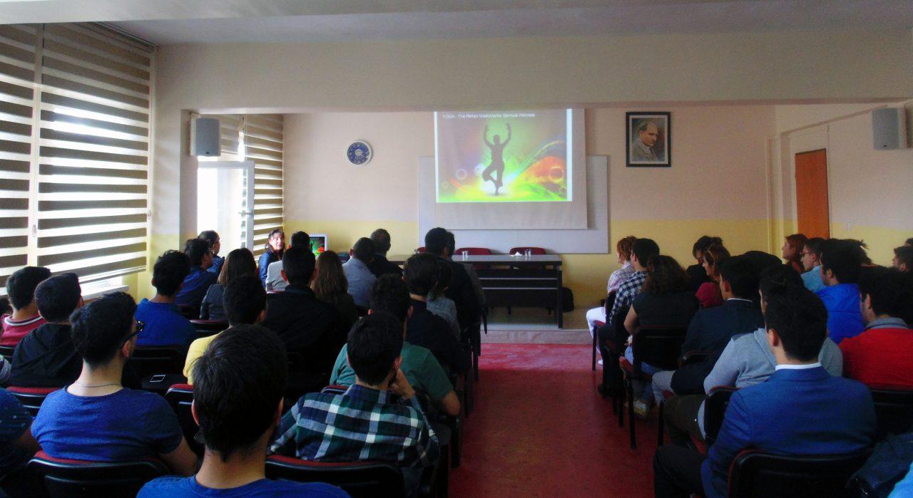 Yüksekokulumuzda YOGA Etkinliği Düzenlendi